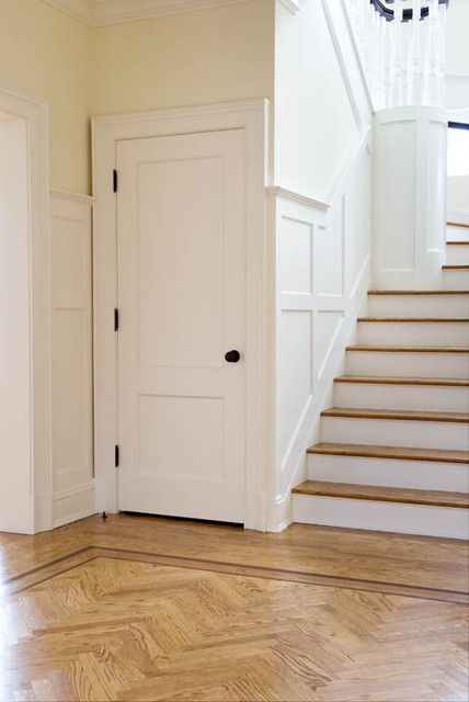 New Canaan traditional-hall & New Canaan - Traditional - Hall - Denver - by TruStile Doors