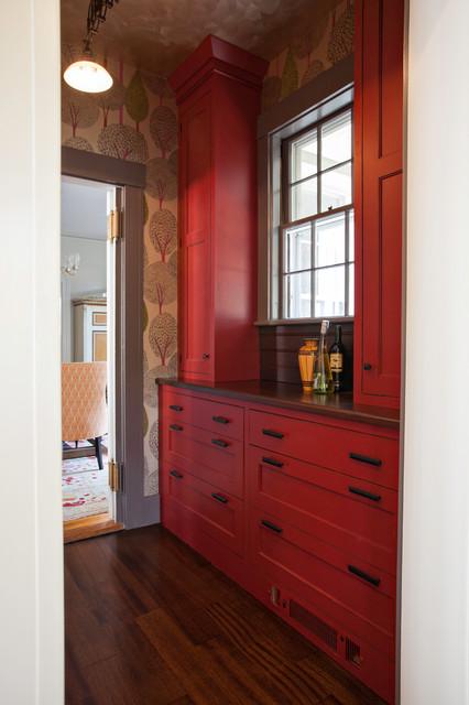 New England Design Works Showroom transitional-hall