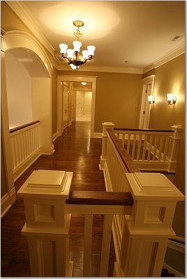 """New """"Old"""" House - Linville traditional-hall"""