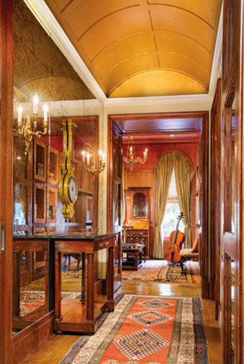 New york townhouse traditional hall new york by for New york townhouse interior