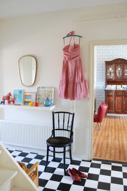 Nina van de Goor's Home eclectic-hall