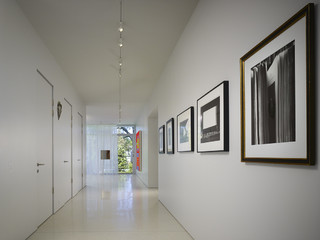 hallway track lighting. Northbrook House - Contemporary Hall Chicago By Wheeler Kearns Architects Hallway Track Lighting