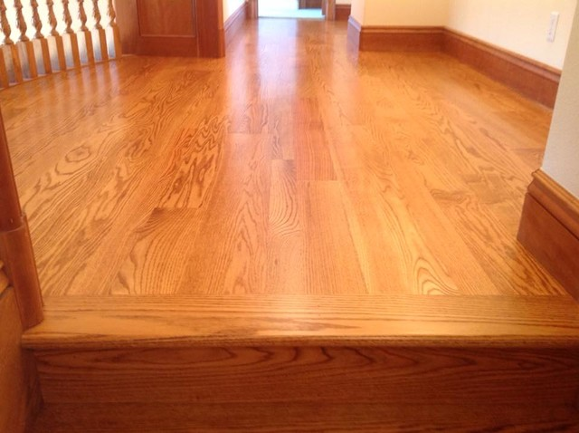 Northern Red Oak Golden Stain