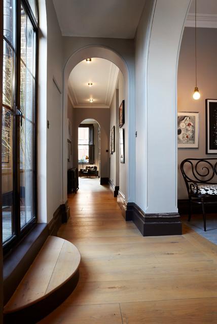 notting hill flat   modern   hall   london   by sigmar