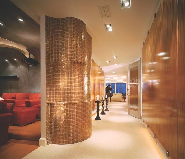 Oceanside Glasstile Boca Masterpiece Hallway contemporary-hall