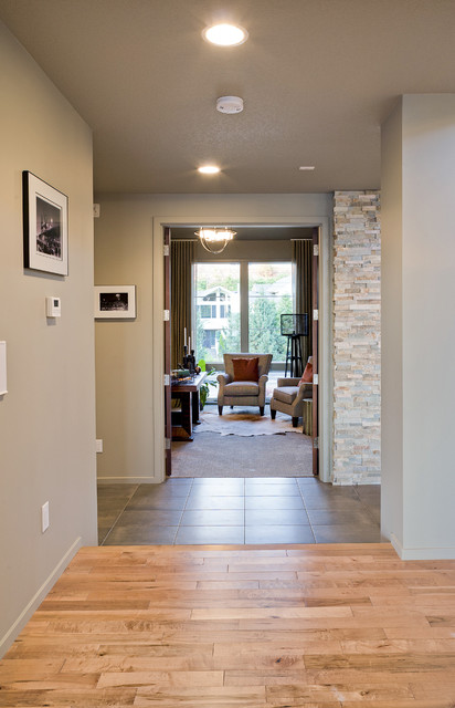 Overlook Show Home contemporary-hall