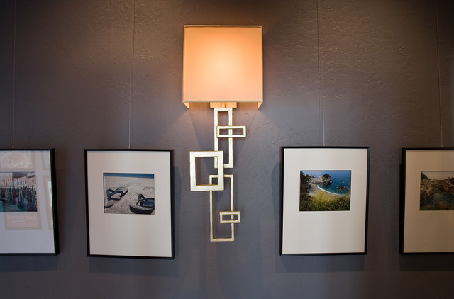 Pacific Heights Pop Gallery Wall By Kimball Starr Interior Design Contemporary Hallway Landing San Francisco By Kimball Starr Interior Design Houzz Uk