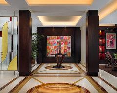 Palm Beach Oceanfront contemporary-hall