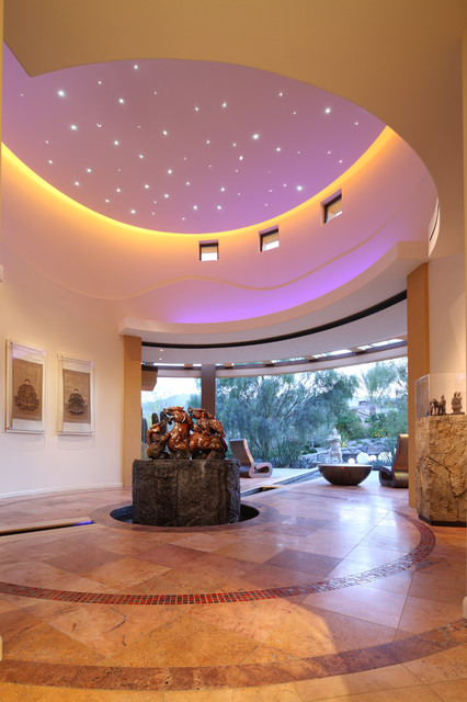 Palm Desert Gallery contemporary hall