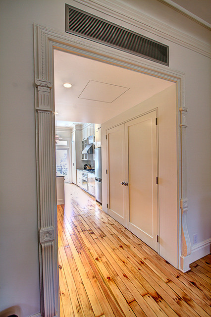 Park slope brownstone traditional hall new york