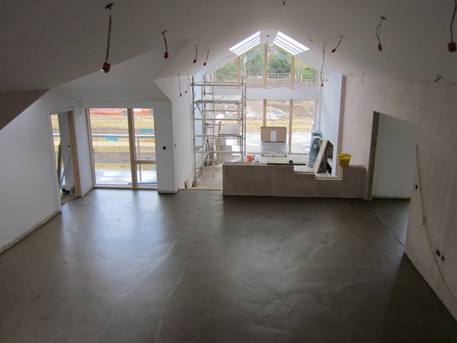 Polished Concrete Flooring Poured Micro Toppings North East Newcastle Durham Hall