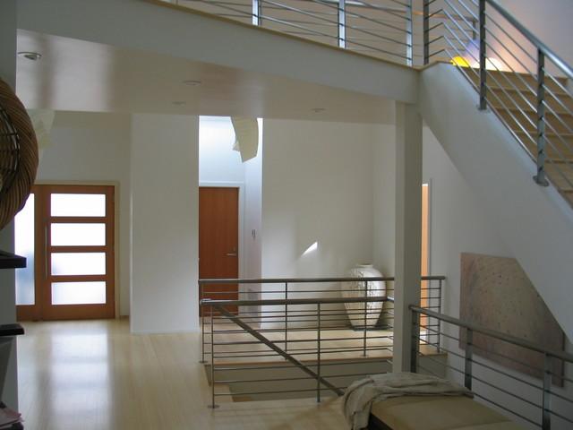 Portola Valley Contemporary Home contemporary-hall