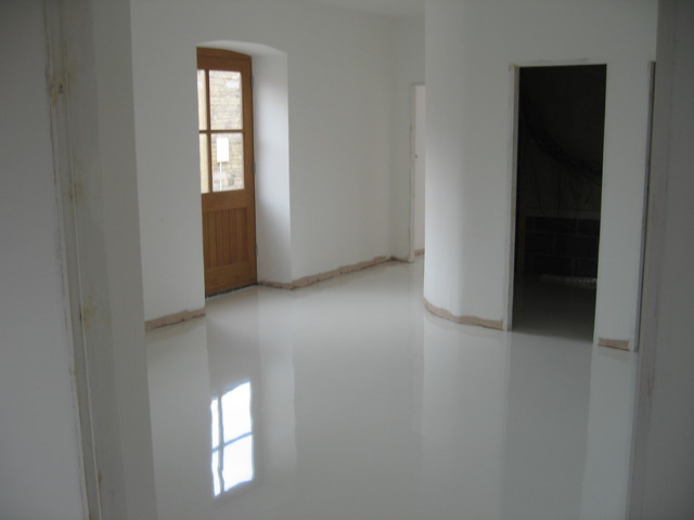 Poured Resin Flooring Newcastle Upon Tyne Decorative Resin Floors North East UK Contemporary Hallway & Landing
