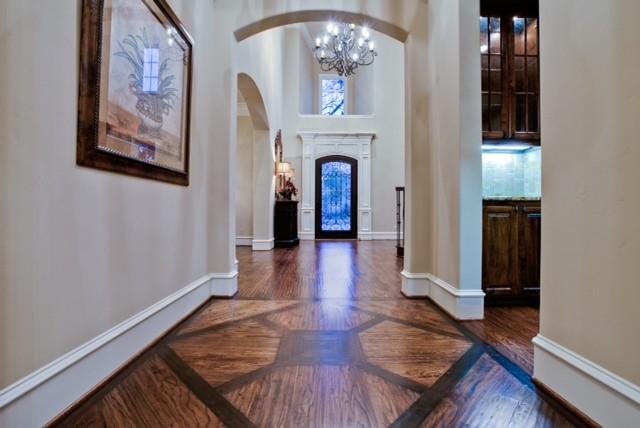 Preston Hollow Project - Nortex Custom Hardwood Floors traditional-hall