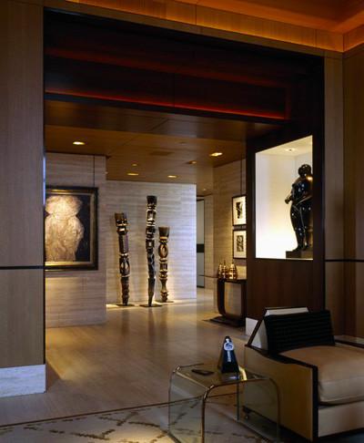 Private Condominium contemporary-hall