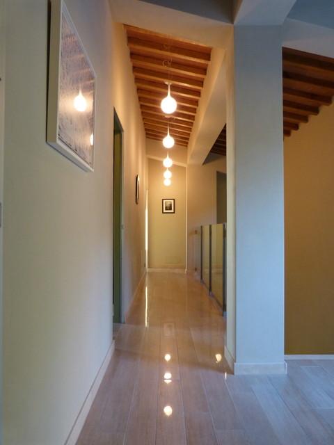 private luxury house contemporary hallway landing