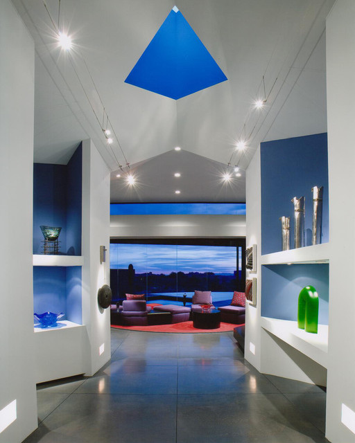 PRIVATE RESIDENCE DESERT MOUNTAIN contemporary-hall