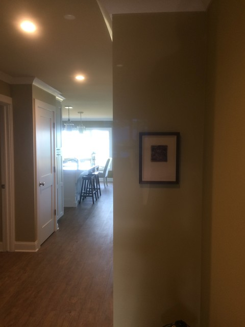 Transitional hallway photo in Other