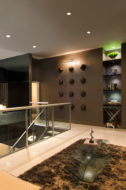 Puck LED Under Cabinet Light contemporary-hall
