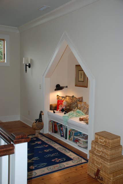 Quiet Reading Nook traditional-hall