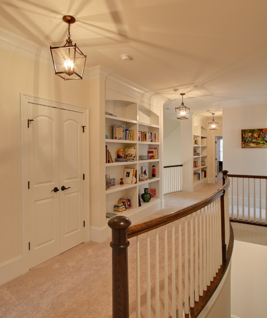 Raleigh Custom Home by Otrada L.L.C. traditional-hall