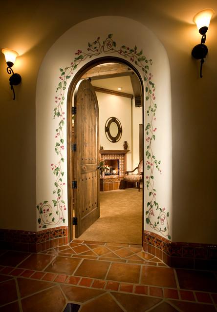 Rancho San Miguel mediterranean-hall