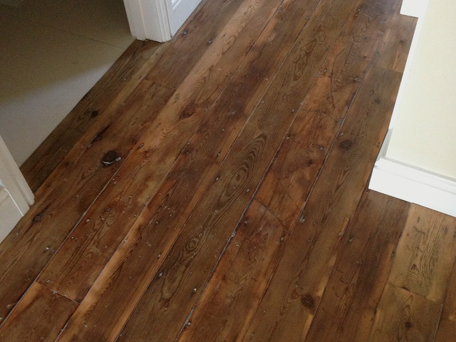 Reclaimed pine floors Salvaged pine flooring