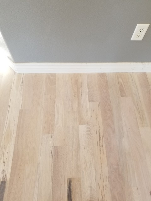 Refinish Southern White Oak Floor With Country White Stain