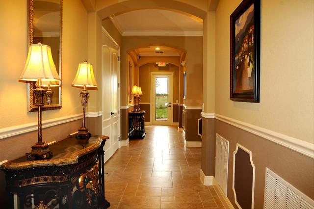 Regency Interior Design Llc Traditional Hall