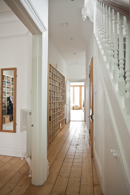 Narrow Foyer Games : How to make a skinny hallway feel more spacious