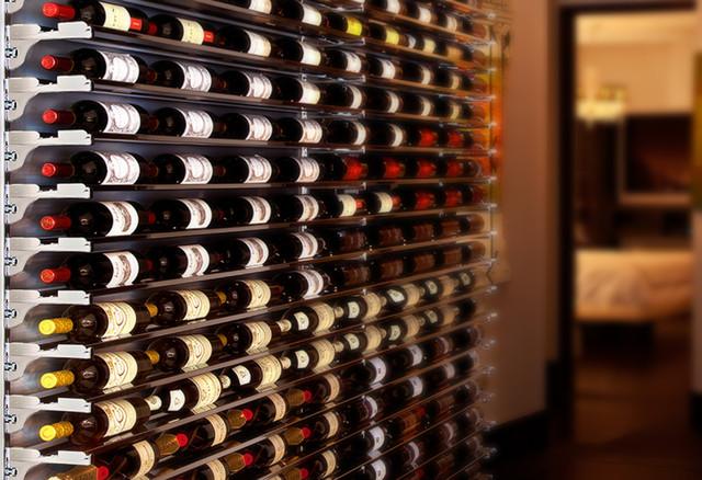 Contemporary Wine Cellar By DiamondLife Part 34