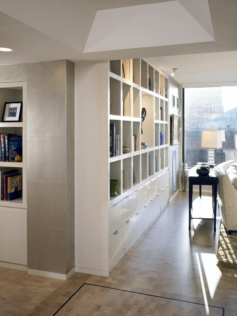 Residence at the Four Seasons Living Room Wall contemporary-hall