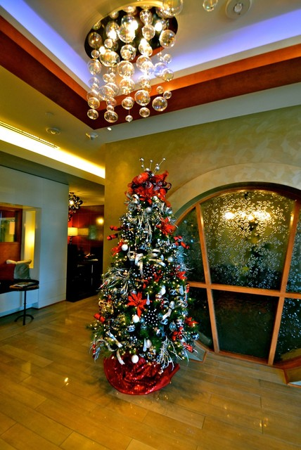 Rockin Around the Christmas Tree contemporary-hall