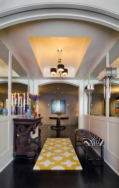 Roth Condo contemporary-hall
