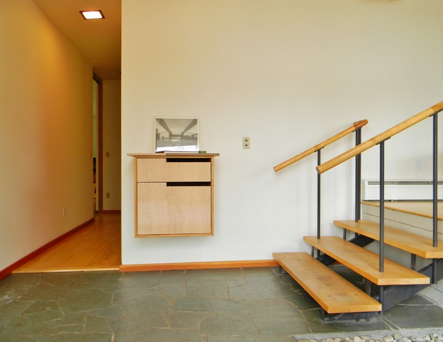 modern hall by Kimberley Bryan
