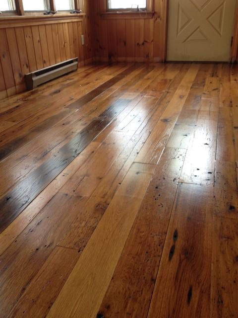 Saco Maine Residence Antique, Maine Wood Flooring