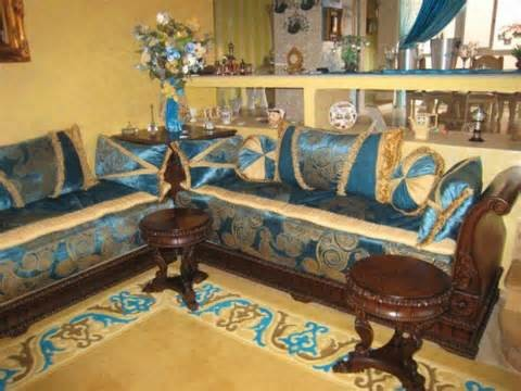 Salon marocain traditional hall montreal by - Les salons traditionnels marocains ...