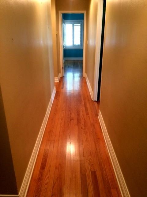 Sand And Finish Red Oak Floors Semi Gloss American