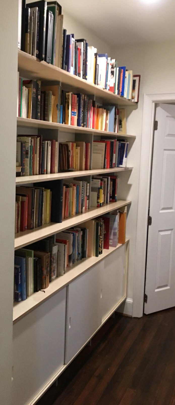 SARA Wall System - Custom Bookshelves