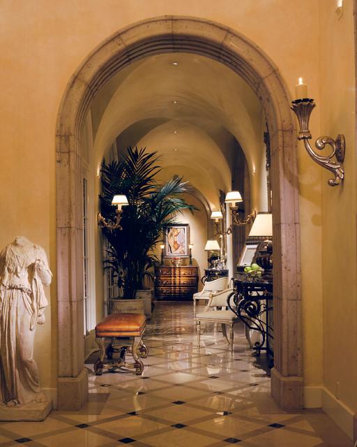 Scottsdale Residence mediterranean-hall