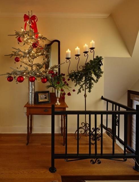 Seattle Tudor Christmas traditional-hall