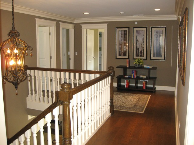 Second Floor Landing Traditional Hall Chicago By Follyn