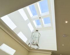 skylights contemporary-hall