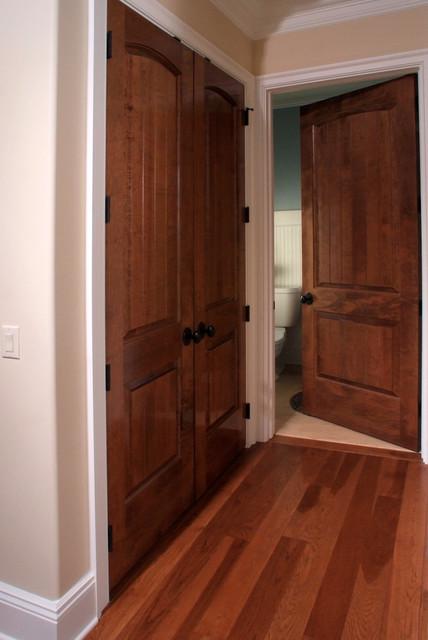 Solid Maple Sante Fe 8 Ft Interior Door Contemporary Hall