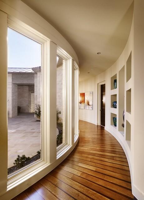 Spanish Oaks Hallway contemporary-hall