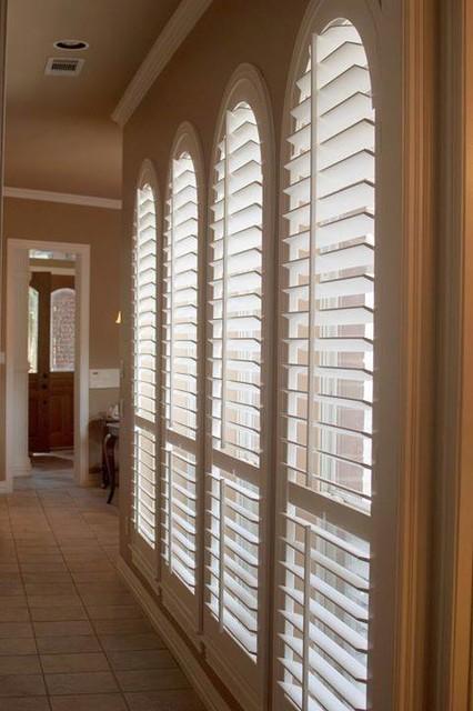 Foyer Plantation Shutters : Specialty shutters