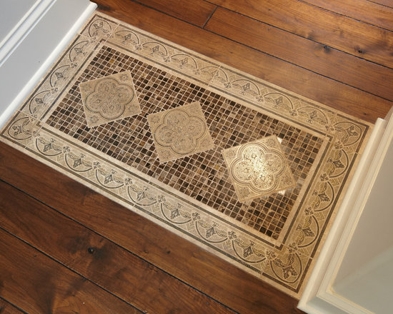Foyer Tile Inlay : Tile inlay floor home design ideas pictures remodel and