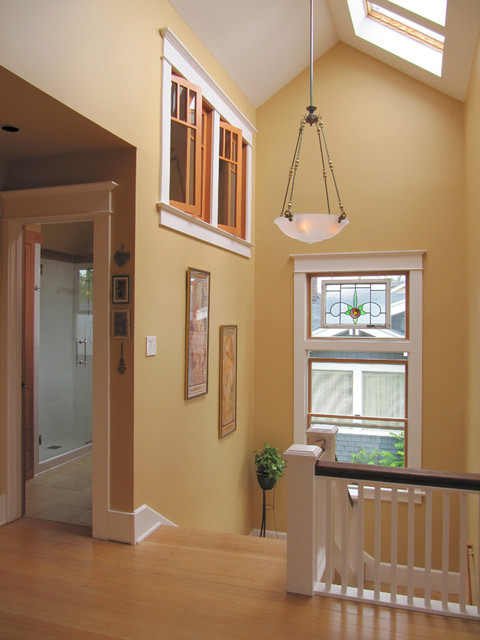 Stair Landing Eclectic Hall Seattle By Tim
