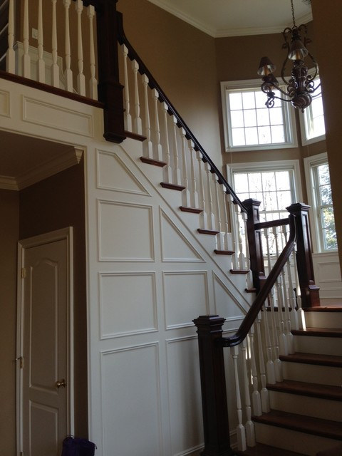 Stair Rail traditional-hall