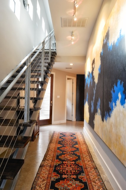 Stairs, Entry, Hall contemporary-hall